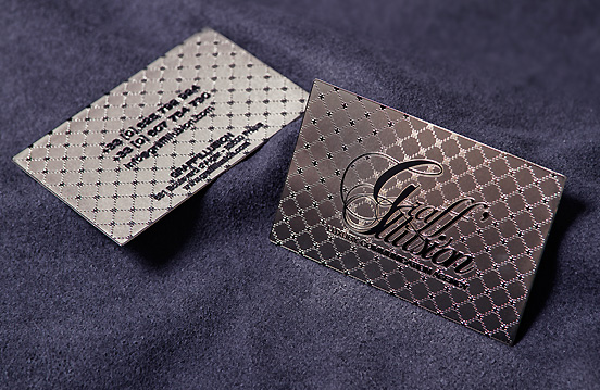 Metal business cards the ultimate in high class accept print metal business cards the ultimate in high class colourmoves